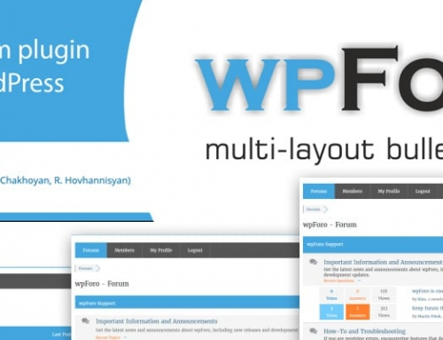 wpForo: das Forum Plugin für WordPress