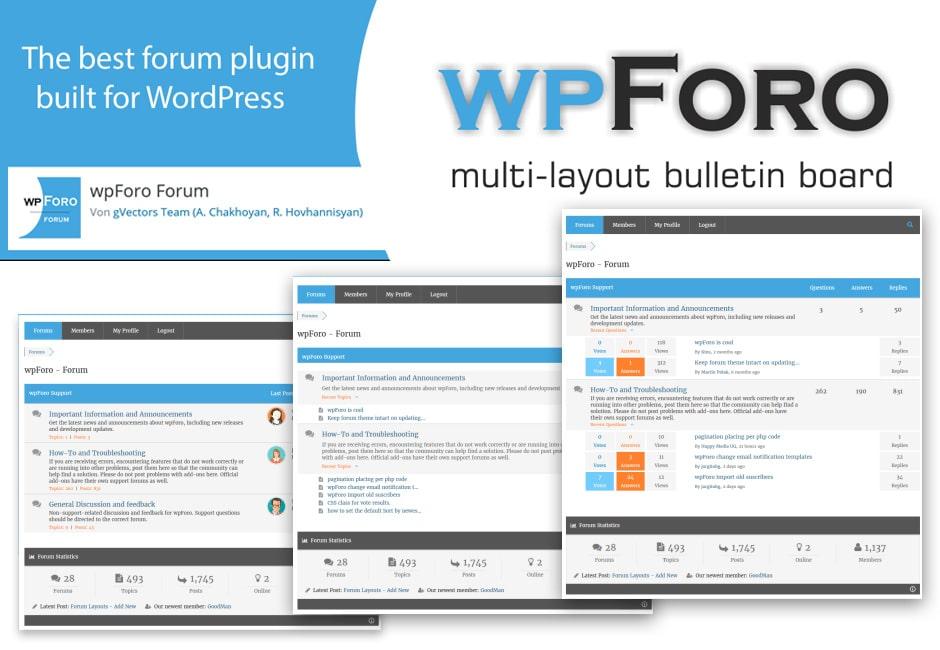 wpForo: in Version 1.9.0 veröffentlicht!