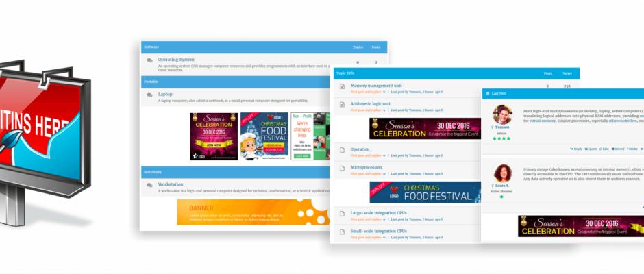 Deutsche Sprachdateien für wpForo – Ads Manager
